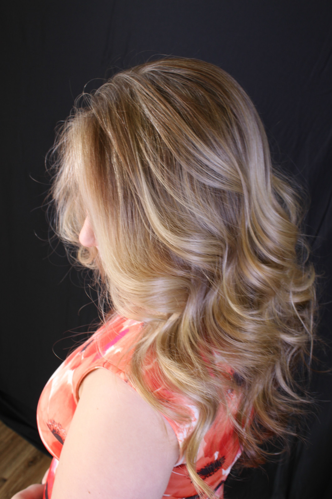 Foil Highlights Ak Lounge San Antonio Hair Permanent