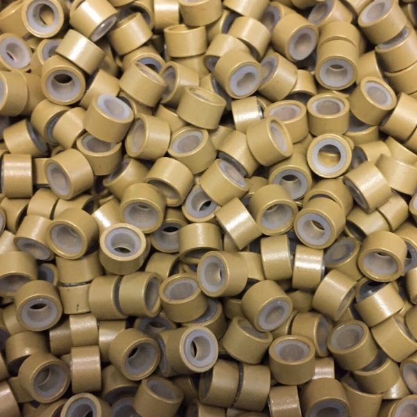 Micro cylinder hair extension beads ak lounge san antonio hair caramel microcylinder hair extension beads pmusecretfo Gallery